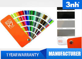 Professional 210 Colors Ral Color Cards , Paint Shade Card 5 * 15Cm ...