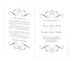 printable program templates printable navy wedding program template rustic by free