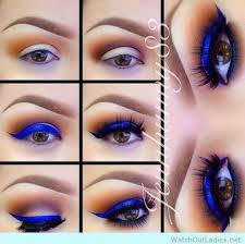 pop up your eye game with a blue eye shadow