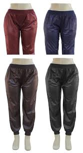 24 units of plus faux leather joggers assorted womens pants at alltimetrading com