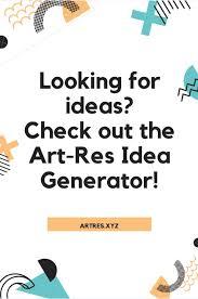 Character Design Prompt Generator Idea Generator Art Resources And Tutorials Character
