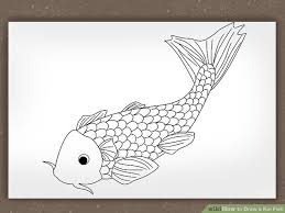koi fish drawing step by step. Modren Step Image Titled Draw A Koi Fish Step 6 To Drawing By B