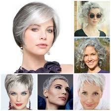 Short Grey Hair Style gorgeous short grey hairstyle ideas for 2016 2017 haircuts 6633 by wearticles.com