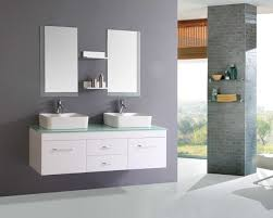 modern white bathroom cabinets. Pretty Bathroom Cabinets With Sink And Square Miror For Modern Design White