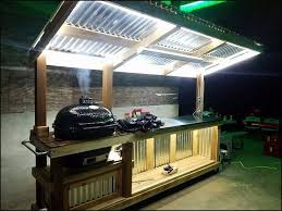 custom outdoor grill inspirational prep station for primo ceramic grill custom made this is how it
