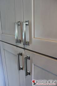 Great, Statement Hardware With Gray Cabinets Shaker II Maple Bright White  Brushed Gray Glaze Paired · Discount Kitchen ...