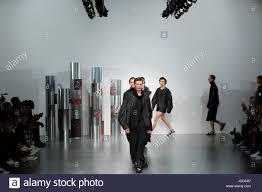 Venue Designer British Designer Berthold Catwalk At London Fashion Week