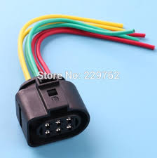 online get cheap audi wiring harness aliexpress com alibaba group 4pcs lsu 4 2 6 pin car sensor connector pigtail case for vw 1j0973733 1j0 973 733 6 way 350 plug wiring harness new wire
