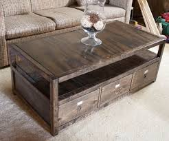Chic Coffee Tables With Storage Diy Coffee Table With Storage   Took Some  Hunting But I