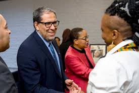 gallery citizen office. Gallery Citizen Office. Contemporary President Lachemi Greets Viola Desmond Bursary Recipient Sharon Folkeshall At Office R