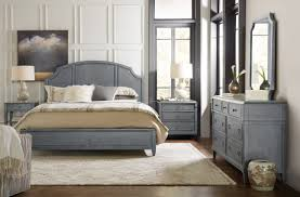 wood panel bed. Hooker Furniture Hamilton Queen Wood Panel Bed 5770-90250-GRY