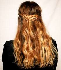 braided hair. easy braids - half up braid braided hair b