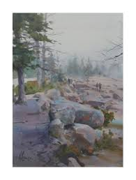 honorable mention september 2016 grand marais plein air festival for september gales painters award 2016 northwest watercolor society waterworks