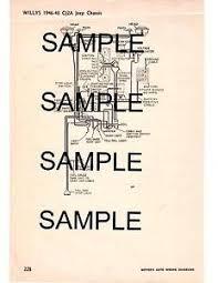 1949 1950 1951 1952 1953 willys jeep cj 3a cj3a cj 3a wiring diagram image is loading 1949 1950 1951 1952 1953 willys jeep cj