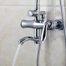 rain shower head bathtub. Wall Mounted Rain Shower Faucet Set 8\ Head Bathtub T