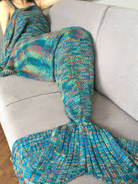 Free Crochet Mermaid Blanket Pattern Custom Decoration