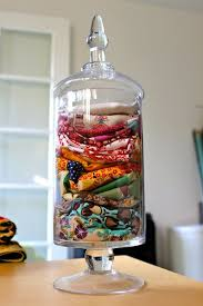 View in gallery. Use pretty apothecary jars ...