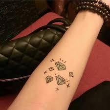 239 1 Pcs Dočasné Tetování Voděodolné Papír Tetovací Nálepky Vzor Spodní část Zad Waterproof