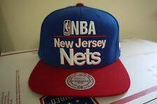 <b>Mitchell & Ness New</b> Jersey Nets Sports Fan кепка, шапки ...