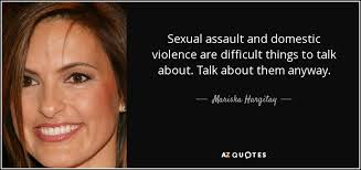 Domestic violence or sexual assault