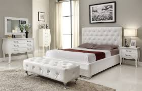White Bedroom Furniture Sets For Adults White Lacquered Wood End ...