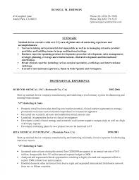 Medical Device Business Plan Resume Examples Engineere Biomedical