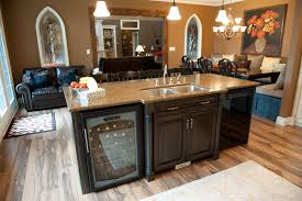 Large Island With Wine Fridge The Not So Far Away Dream Home In