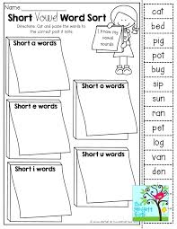 Short Vowel Phonics Worksheets Free Long And Practice For ...