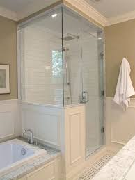 Enclosed Shower Units Canada Glass Enclosed Shower Stalls Lowes Enclosed  Shower Stalls On The Inside Of The Shower On The Back Of The Half Wall Is A