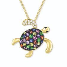 771165 0 jpg 14k yellow gold effy sea turtle pendant