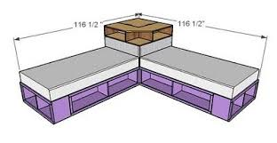 corner twin beds with storage. Simple Twin How To DIY Space Saving Corner Twin Beds Set  WwwFabArtDIYcom LIKE To With Storage W