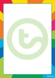 Rainbow Starburst Page Border Teaching Resource Teach Starter