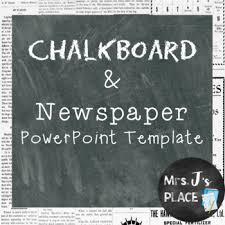 newspaper ppt template newspaper powerpoint teaching resources teachers pay teachers