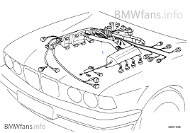 engine wiring harness bmw 5 e39 530d m57 europe engine wiring harness