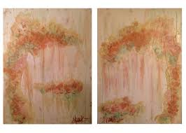 Piece of Cake I and II. 18 inches x 24 inches each. Acrylic,