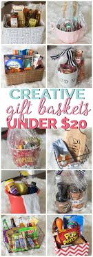 Gift Basket Wrapping Ideas 25 Best Gift Baskets Ideas On Pinterest Gift Basket Cheap Gift