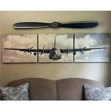 airplane canvas wall art 3 piece  on 3 piece wall art canada with airplane canvas wall art accent and occasional furniture plane 3