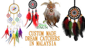 How Dream Catchers Are Made Custom Made Dream Catchers in Malaysia Green Daun 62