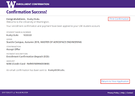 Confirm Of Receipt Ecd Enrollment Confirmation System Help Student Systems