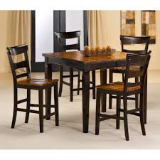 dark wood dining chairs. Amazing Rubberwood Furniture For House Design Ideas : Simple And Neat Dining Room With Dark Wood Chairs