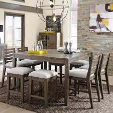 height of dining room table. belfort select district 9 piece counter height dining set - item number: 237-160 of room table