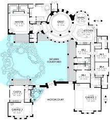 spanish revival house plans with courtyards full size of floor courtyard floor plans plans villa construction