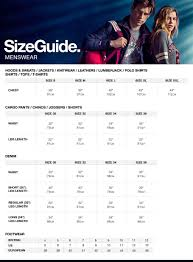 Size Chart Chino Joggers Jogger Shorts Casual Shirts For Men