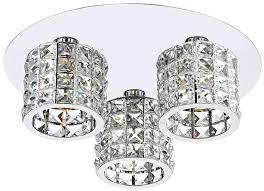 3 lamp ceiling light dar agneta modern flush 3 lamp ceiling light chrome ra white chrome effect 3 lamp pendant ceiling light