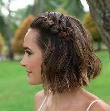 Image Cheveux Courts Coiffure Mariage Coiffure Cheveux Mi
