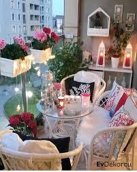 Teras Ve Balkon Dekorasyonu Fikirleri Evdekorcu Com Ev