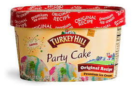 I Am Addicted To Turkey Hill Party Cake Ice Cream Donnaville