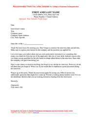 45 Interview Thank You Letter Free To Download In Pdf