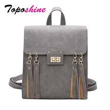 Toposhine 2018 <b>NEW Fashion Backpack</b> Tassel <b>Women Backpack</b> ...