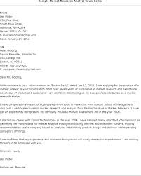 Employment Cover Letter Example Sample Scientist Cover Letter